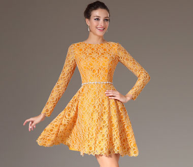 La robe de soirée courte
