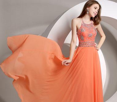 La robe de soirée longue