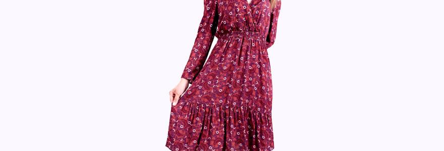 robes longues plissées